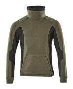 17584-319-3309 Sweatshirt - moss green/black