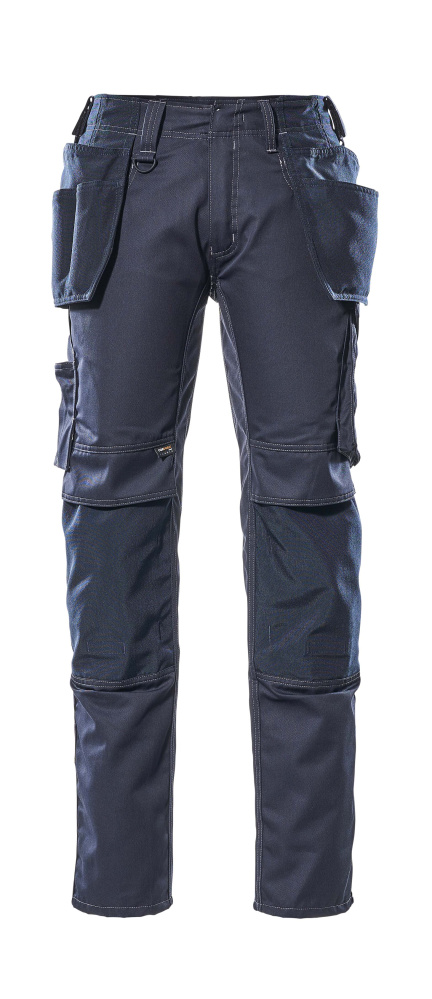 17731-442-010 Trousers with kneepad pockets and holster pockets - dark navy