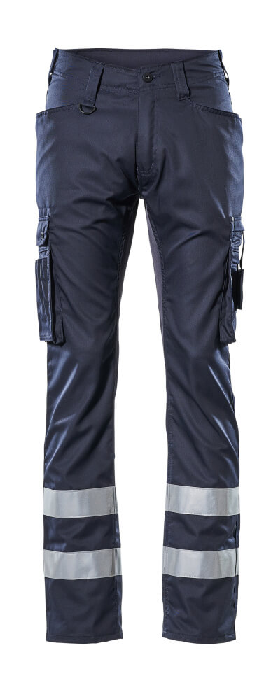 17879-230-010 Trousers with thigh pockets - dark navy