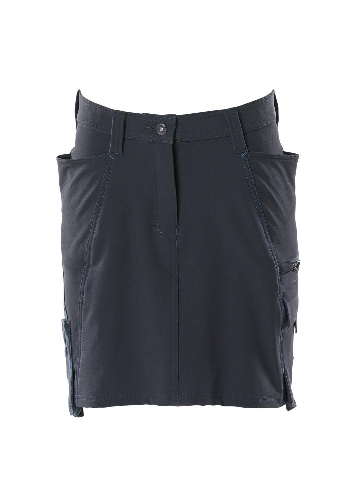 Skirt, stretch, diamond fit, 45 cm