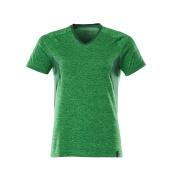 18092-801-33303 T-shirt - grass green-flecked/green