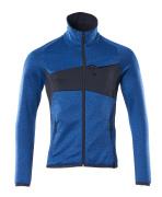 18103-316-91010 Fleece Jumper with zipper - azure blue/dark navy