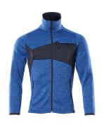 18105-951-91010 Knitted Jumper with zipper - azure blue/dark navy
