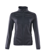 18153-316-010 Fleece Jumper with zipper - dark navy