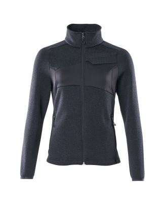 18155-951-010 Knitted Jumper with zipper - dark navy