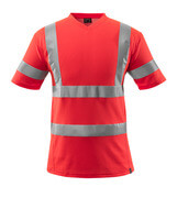 18282-995-222 T-shirt - hi-vis red