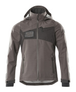 18301-231-1809 Outer Shell Jacket - dark anthracite/black