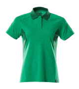 18393-961-33303 Polo shirt - grass green/green