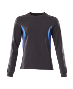 18394-962-01091 Sweatshirt - dark navy/azure blue