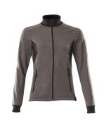 18494-962-1809 Sweatshirt with zipper - dark anthracite/black