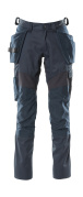 18531-442-010 Trousers with kneepad pockets and holster pockets - dark navy