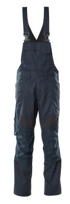 18569-442-010 Bib & Brace with kneepad pockets - dark navy