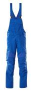 18569-442-91 Bib & Brace with kneepad pockets - azure blue