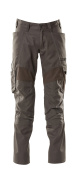 18579-442-18 Trousers with kneepad pockets - dark anthracite