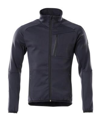 18603-316-010 Fleece Jumper with zipper - dark navy