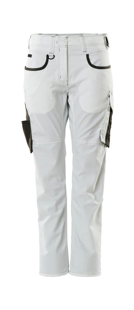 18678-230-0618 Trousers - white/dark anthracite