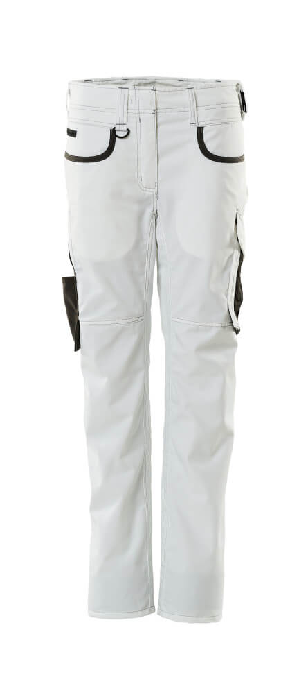 18688-230-0618 Trousers - white/dark anthracite