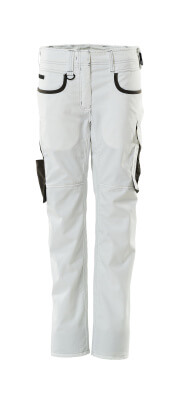 18688-230-0618 Trousers - white/dark anthracite