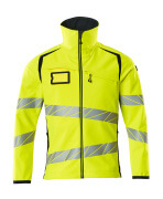 19002-143-14010 Softshell Jacket - hi-vis orange/dark navy
