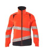 19008-511-14010 Jacket - hi-vis orange/dark navy