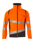 19009-511-14010 Jacket - hi-vis orange/dark navy