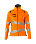 19012-143-14010 Softshell Jacket - hi-vis orange/dark navy