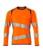 19084-781-14010 Sweatshirt - hi-vis orange/dark navy