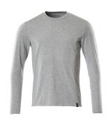 20181-959-08 T-shirt, long-sleeved - grey-flecked
