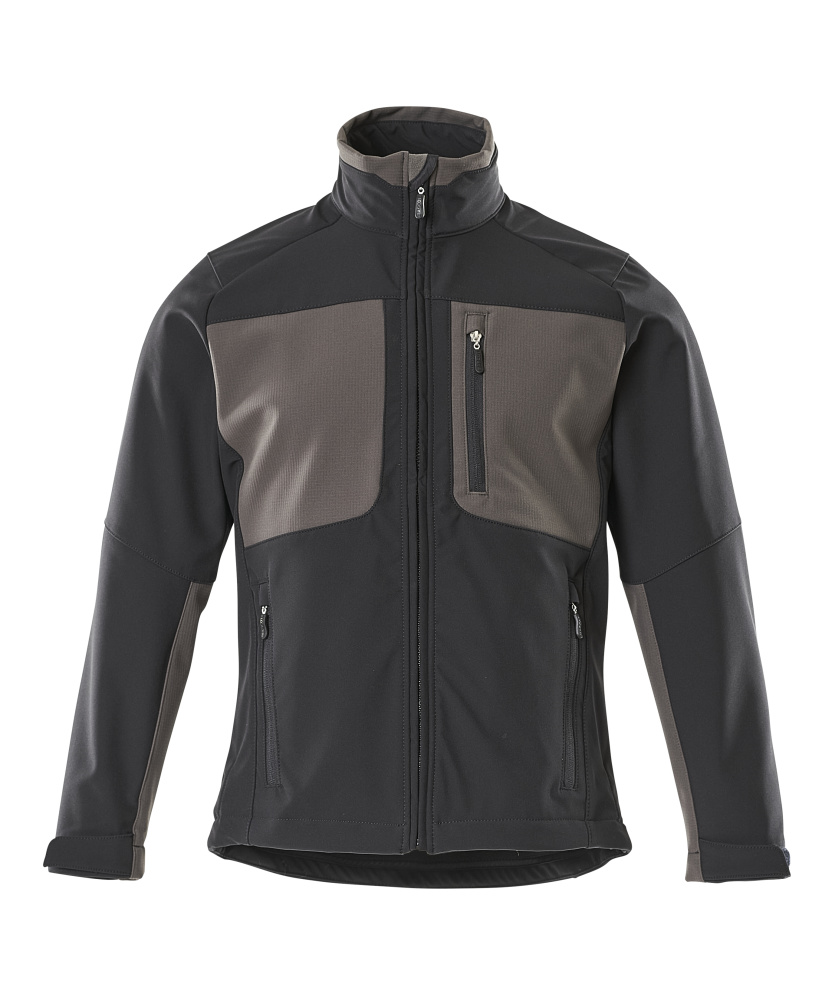 50057-824-0918 Softshell Jacket - black/dark anthracite