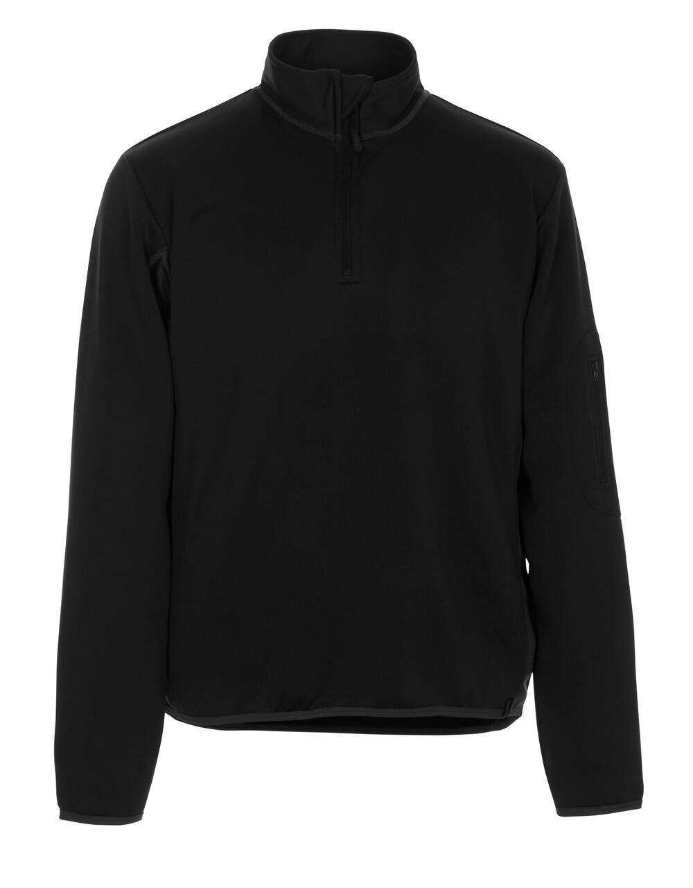 50068-828-0918 Polo Sweatshirt - black/dark anthracite