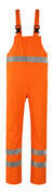 50103-814-14 Rain Bib & Brace - hi-vis orange