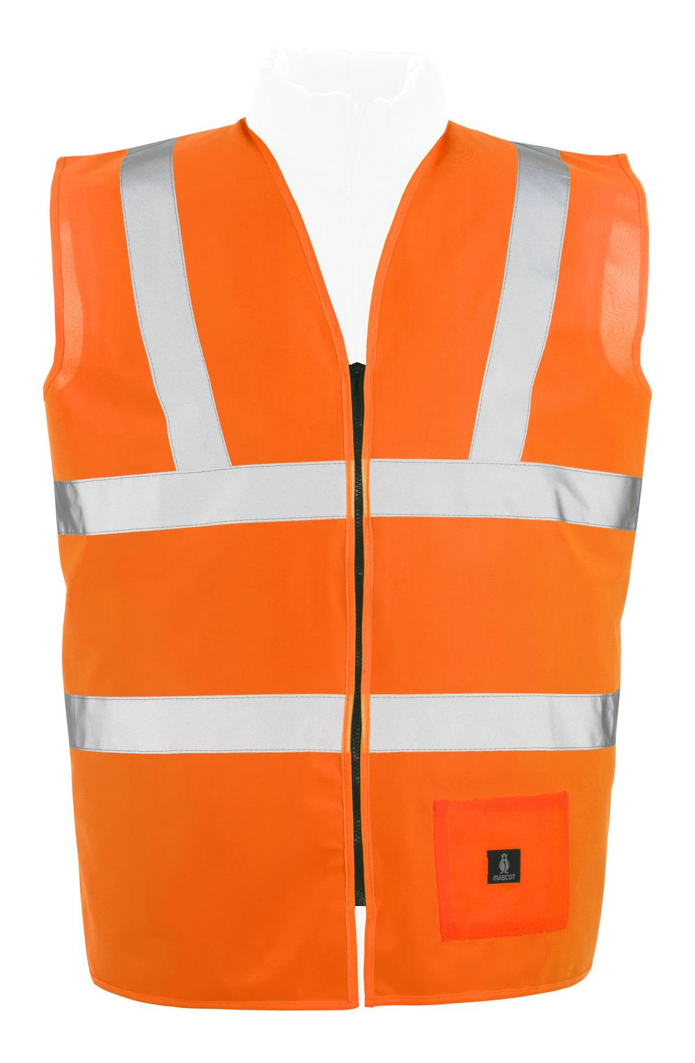 50107-310-14 Traffic Vest - hi-vis orange