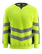 50126-932-1709 Sweatshirt - hi-vis yellow/black