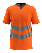 50127-933-1418 T-shirt - hi-vis orange/dark anthracite
