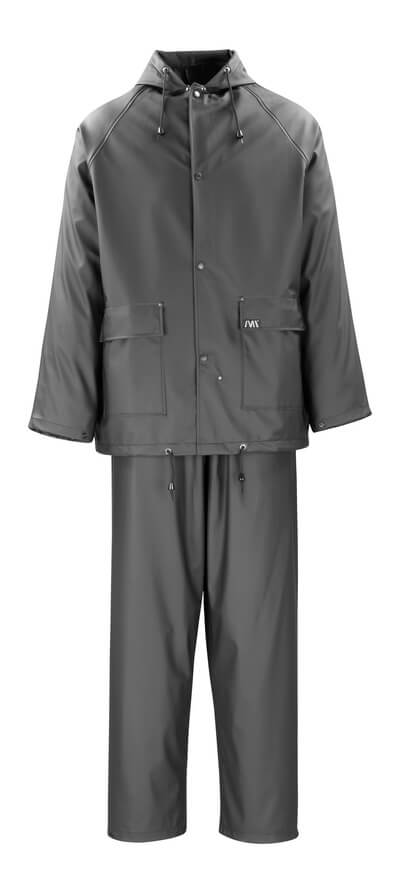 50184-873-09 Rain Jacket & Trousers - black