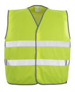 50187-874-17 Traffic Vest - hi-vis yellow