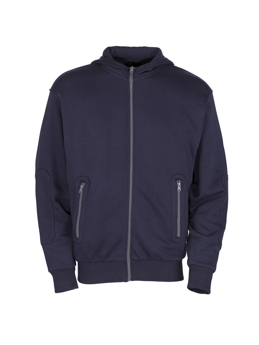 50423-191-01 Hoodie with zipper - navy
