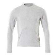 50548-250-08 T-shirt, long-sleeved - grey-flecked
