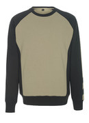 50570-962-5509 Sweatshirt - light khaki/black