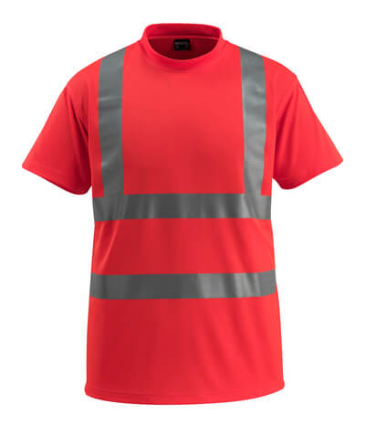 50592-976-222 T-shirt - hi-vis red