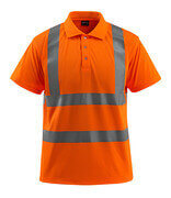 50593-972-14 Polo Shirt - hi-vis orange
