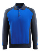 50610-962-11010 Polo Sweatshirt - royal/dark navy