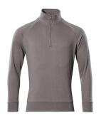 50611-971-888 Sweatshirt with half zip - anthracite