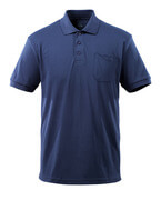 51586-968-01 Polo Shirt with chest pocket - navy