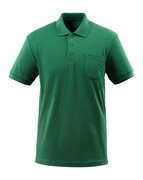 51586-968-03 Polo Shirt with chest pocket - green