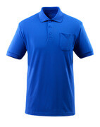 51586-968-11 Polo Shirt with chest pocket - royal