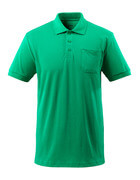 51586-968-333 Polo Shirt with chest pocket - grass green