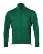51591-970-03 Sweatshirt with zipper - green