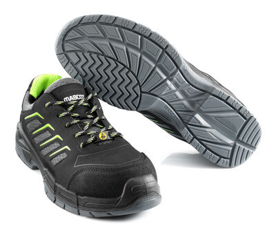 F0108-937-09 Safety Shoe - black