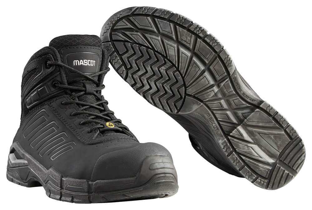 F0114-937-09 Safety Boot - black